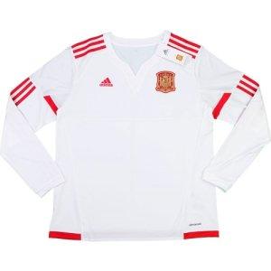 2015-16 Spain Adidas Away Women Long Sleeve Football Shirt