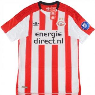 2017-2018 PSV Umbro Home Football Shirt