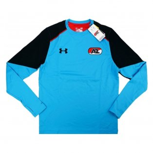 2016-17 AZ Alkmaar Midlayer Storm Training Top (Aqua)