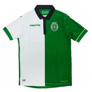 2015-16 Sporting Lisbon Authentic Third Football Shirt