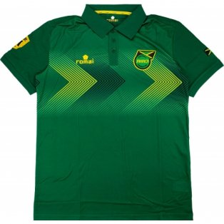 2015-16 Jamaica Romai Polo Shirt (Green)