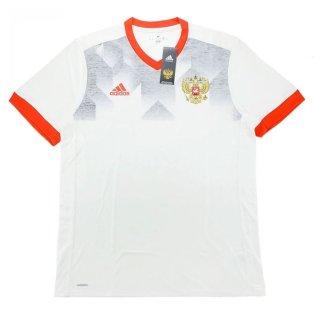 2016-17 Russia Adidas Pre-Match Training Shirt (White)