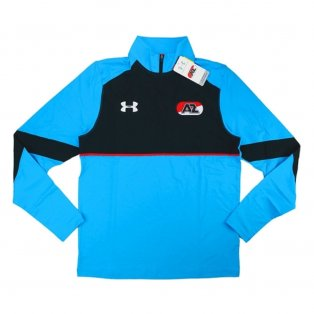 2016-17 AZ Alkmaar Half Zip Training Top (Aqua)