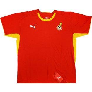 2008-09 Ghana Puma Training Tee (Red)