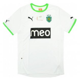 2011-12 Sporting Lisbon Away Football Shirt (Kids)