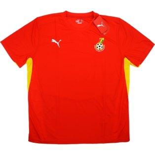 2008-09 Ghana Puma Training Shirt (Red)