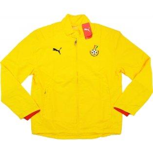 2008-09 Ghana Puma Woven Jacket (Yellow)