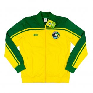 2011-12 New York Cosmos Umbro Track Jacket (Yellow)