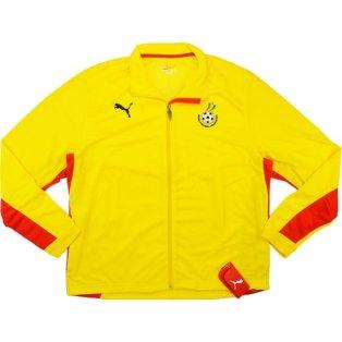 2008-09 Ghana Puma Training Jacket (Yellow)