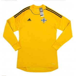 2013-2014 Northern Ireland Adidas Home Goalkeeper Shirt