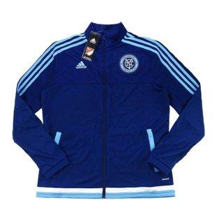 2015-16 New York City Adidas Women Anthem Jacket (Navy)