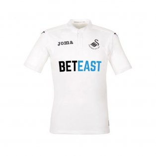 2016-17 Swansea Joma Home Football Shirt Kids