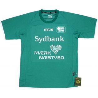 2014-15 Naestved BK Mitre Home Football Shirt