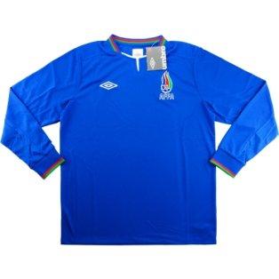 2013-14 Azerbaijan Umbro Home Long Sleeve Football Shirt