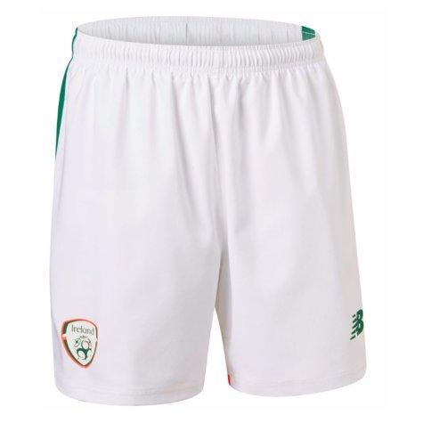 2017-18 Ireland New Balance Home Football Shorts
