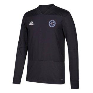 2018 New York City Adidas Long Sleeve Training Top (Dark Grey)