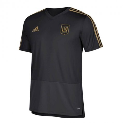 2018 Los Angeles Adidas Training Top (Black)