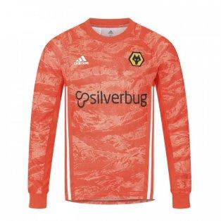 2019-2020 Wolves Away Adidas Goalkeeper Shirt (Kids)