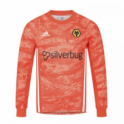 2019-2020 Wolves Away Adidas Goalkeeper Shirt (Kids)