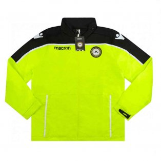 2018-2019 Udinese Macron Rain Jacket (Yellow)
