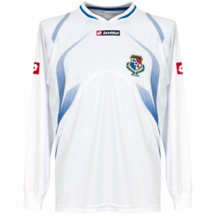 2009-10 Panama Lotto Away Long Sleeve Football Shirt