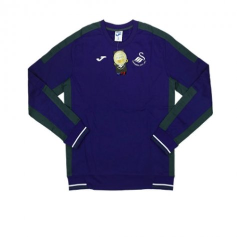 2016-17 Swansea Joma Sweat Training Top (Purple)