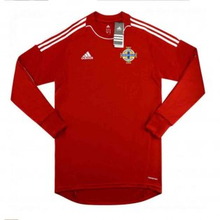 2013-2014 Northern Ireland Adidas Away Goalkeeper Shirt