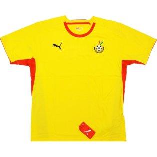 2008-09 Ghana Puma Training Tee (Yellow)