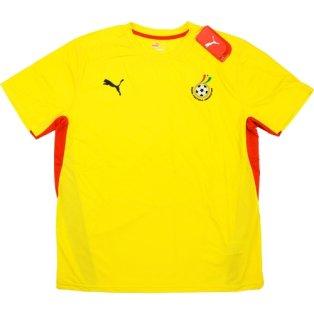 2008-09 Ghana Puma Training Shirt (Yellow)