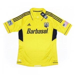 2012-13 Columbus Crew Adidas Home Authentic Football Shirt