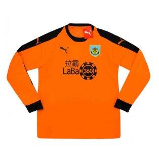 2018-2019 Burnley Puma Away Goalkeeper Shirt