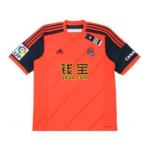 2014-15 Real Sociedad Adidas Away Football Shirt