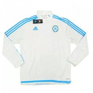 2015-16 Olympique Marseille Adidas 1/2 Zip Training Top
