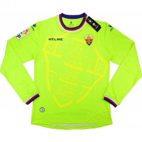2015-16 Elche Kelme Goalkeeper Shirt (Green)