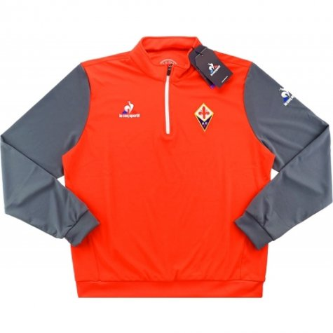 2016-17 Fiorentina Half Zip Training Top (Red)