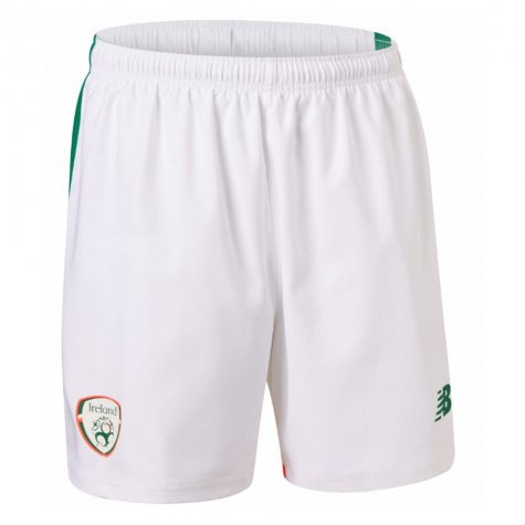 2017-18 Ireland New Balance Away Football Shorts (Kids)
