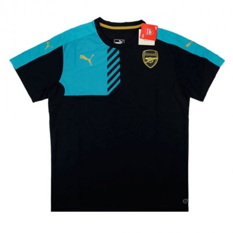 2015-16 Arsenal Puma Training Shirt (Black)