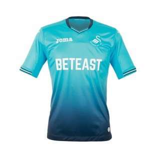 2016-17 Swansea Joma Away Football Shirt Kids