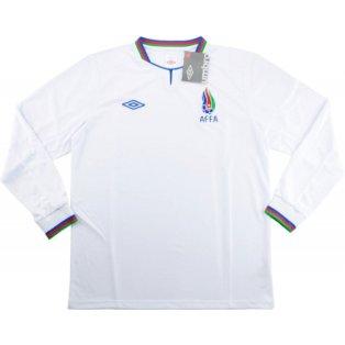 2013-14 Azerbaijan Umbro Away Long Sleeve Football Shirt