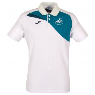 2017-18 Swansea Joma Training Polo Shirt (White) - Kids