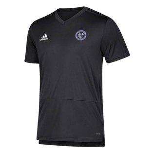 2018 New York City Adidas Training Top (Dark Grey)