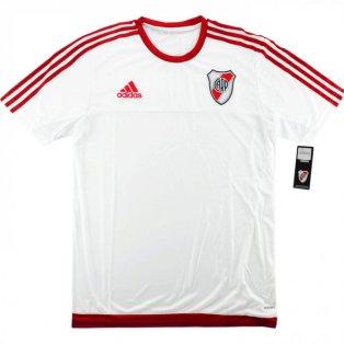 2016-2017 River Plate Adidas Adizero Training Shirt (White)