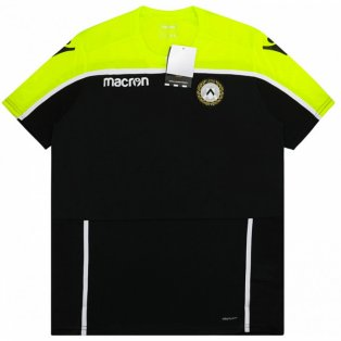 2018-2019 Udinese Macron Training Shirt (Black)