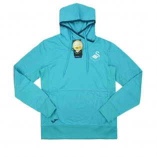 2016-2017 Swansea Joma Hooded Sweat Top Womens (Blue)