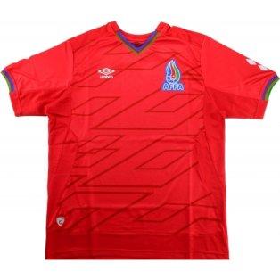 2015-16 Azerbaijan Umbro Away Football Shirt