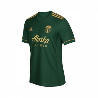2018 Portland Timbers Adidas Home Football Shirt - Kids