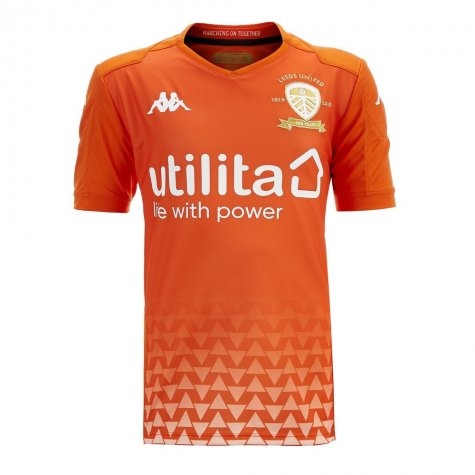 2019-2020 Leeds United Kappa Away Goalkeeper Shirt - Kids