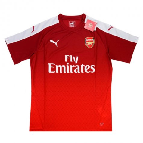 2015-16 Arsenal Puma Training Shirt (Red)