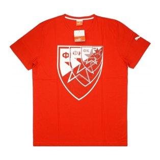 2015-16 Red Star Belgrade Puma Logo Tee (Red)