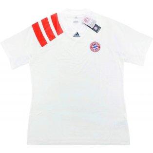2017-18 Bayern Munich Adidas L.I. Tee (White)